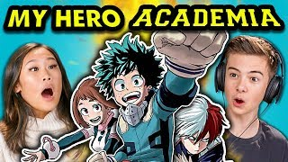 TEENS REACT TO MY HERO ACADEMIA