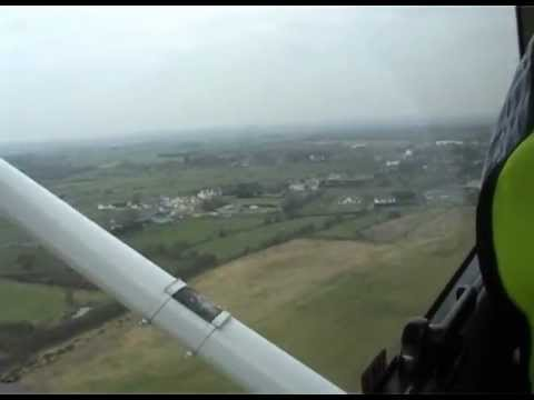 Flight over Lough Corrib and Galway City