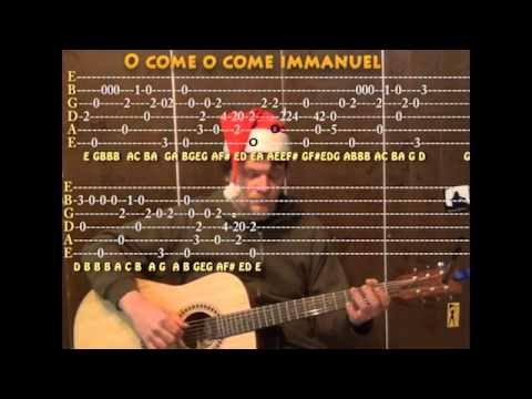 Funky Guitar Chords O Come O Come Emmanuel Composition - Beginner ...