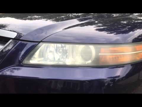 Using bug repellent to clean your hazy headlights
