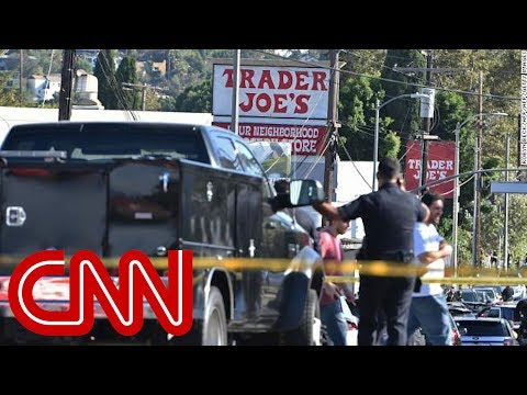 Man taken into custody at Trader Joe's in Los Angeles after hours-long standoff
