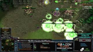 ZERGTV Играет в WarCraft 3 MOD SC2 - варкрафтерам не смотреть :D