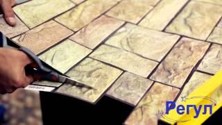 видео Виниловая пластиковая плитка для ванной комнаты и панели ПВХ