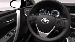 Toyota Auris Hybrid - Interior design video