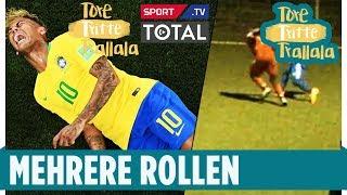 Amateurkicker macht den Neymar 😂   Tore, Tritte, Trallala