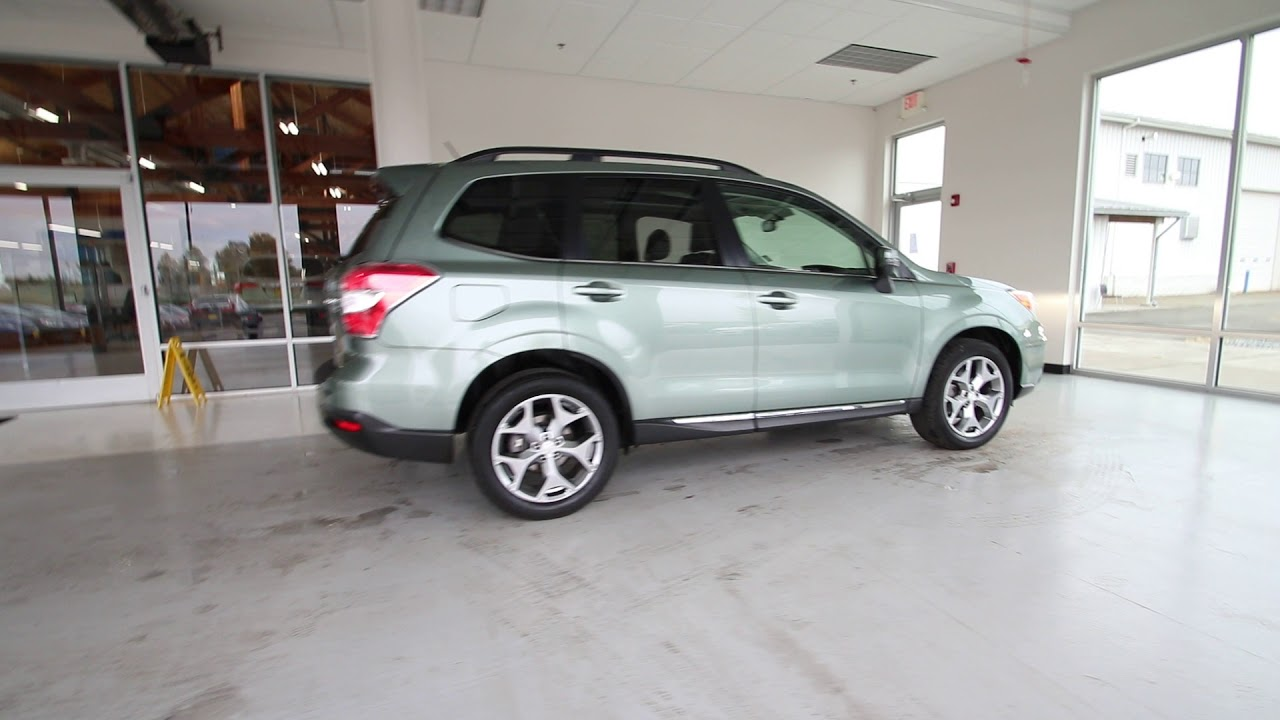 2017 Subaru Forester 2 5i Touring Jasmine Green Metallic Fh550548 Seattle Sumner
