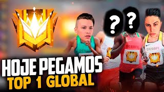 ❤️ PEGANDO TOP 1 GLOBAL ❤️ LOUD MEGA FT FLUXO APELAPATO❤️ FREEFIRE AO VIVO - LIVE ❤️
