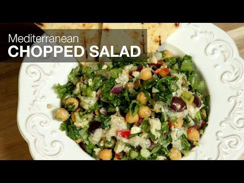 Ronco Recipes Salad-o-Matic Mediterranean Chopped Salad