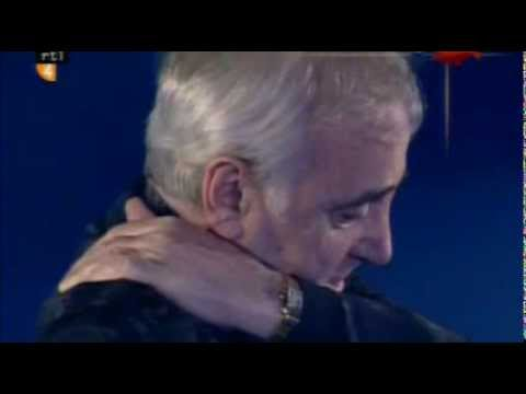 Charles Aznavour - The old fashioned way/Les plaisirs démodés  (English French version, Dutch TV)