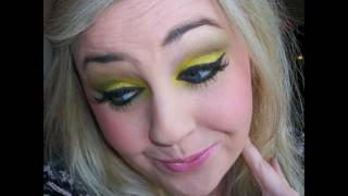 Rihanna feat David Guetta Who's That Chick Official Video Leak Inspired Makeup Look