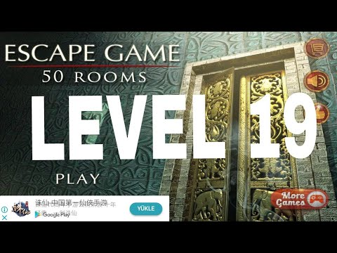 Escape Game 50 Rooms 1 Level 19 Walkthrough Youtube