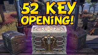 52 UNDAUNTED KEY OPENING - Elder Scrolls Online (Shadows of the Hist)