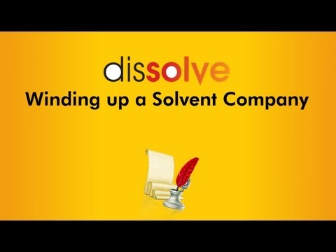Winding up a Solvent Company