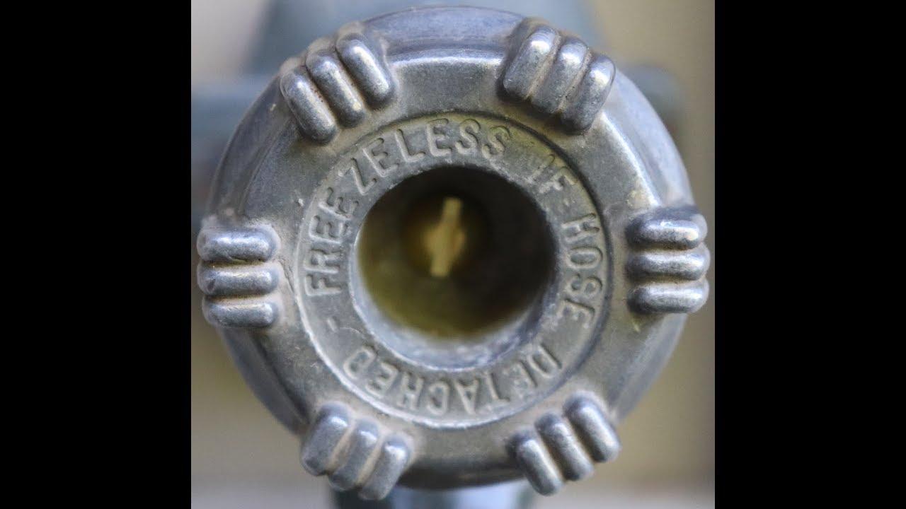 Woodford Model 14 Leaking Faucet Fix - YouTube