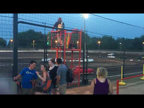 Sycamore speedway compact car heat 2 JUNE 29 2018