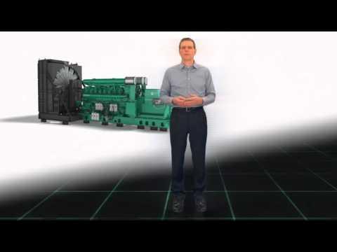 Cummins Power Generation: QSK95 generator with Gary Johanson