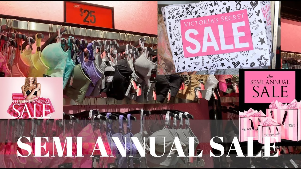 67211d212881 VIctoria's Secret and Pink Semi Annual Sale Haul 2019 - YouTube