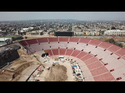 "LOS ANGELES by DJI ""Los Angeles Coliseum"""