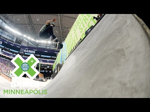 Men's Skateboard Street: FULL BROADCAST | X Games Minneapolis 2018