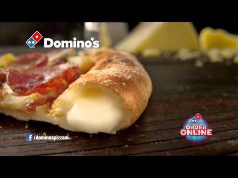 Domino's Pizza Presenteert Cheesy Crust