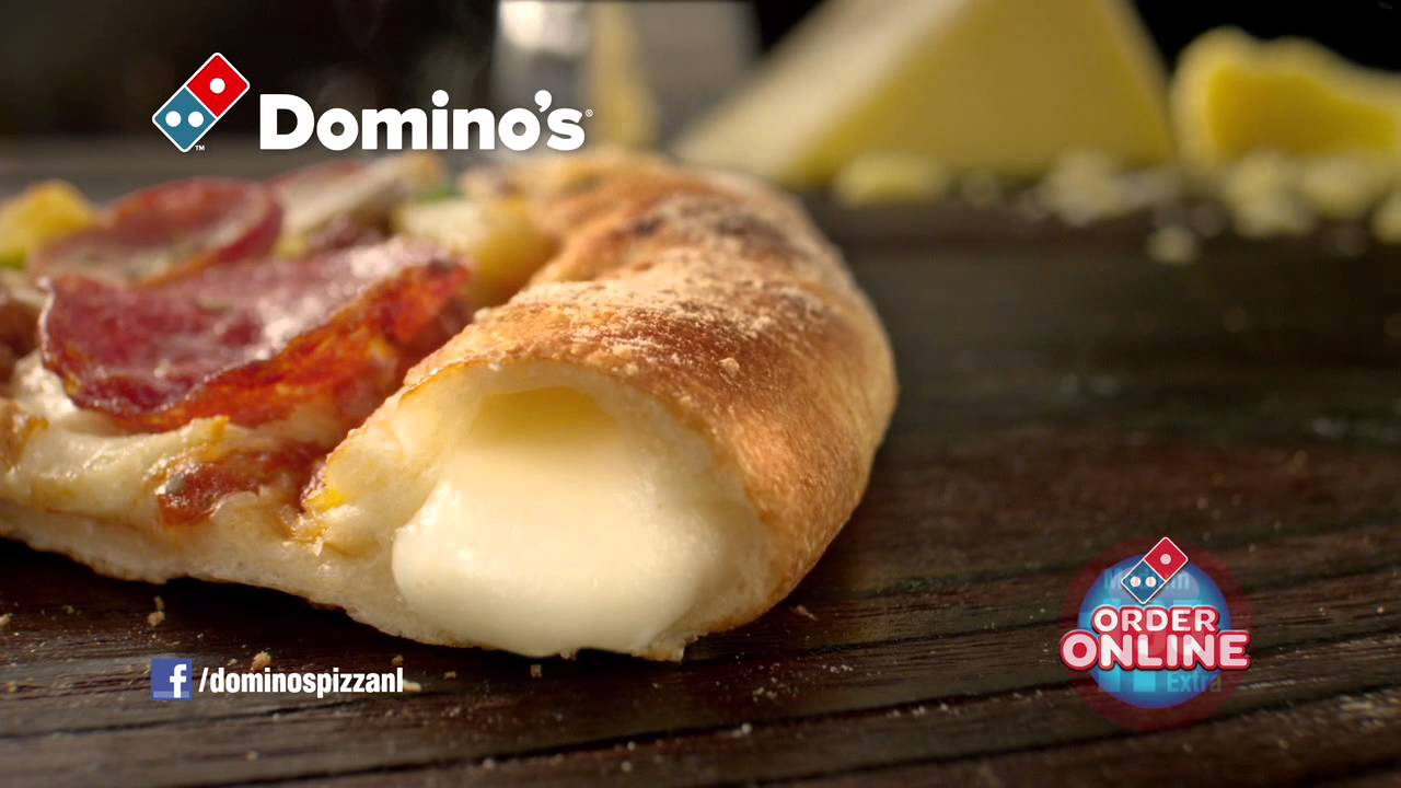Domino's Pizza presenteert Cheesy Crust - YouTube