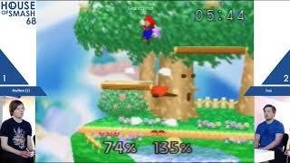 House of Smash 68 - Mythra vs Toa - Grand Finals - Smash 64