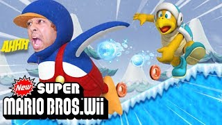 THESE DUDES WONT LET ME CHILL!! GET IT? SORRY.. [NSMB Wii] [#03]