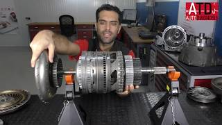 Torque converter in automatic transmission gearbox