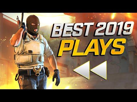 BEST PRO CS:GO PLAYS OF 2019 (REWIND)