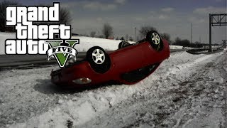 GTA 5 - Car Accident