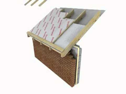 Xtratherm Warm Pitched Roof Sarking Insulation Youtube