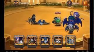 Heroes Charge Death Bringer Hellboy - Best team