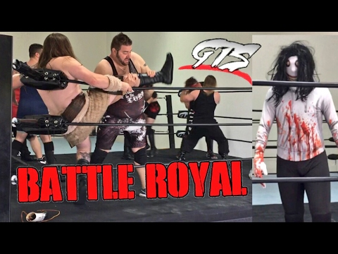 JEFF THE KILLER RAIDS CHAMPIONSHIP BATTLE ROYAL! INSANE ENDING ROCKS GTS WRESTLING!