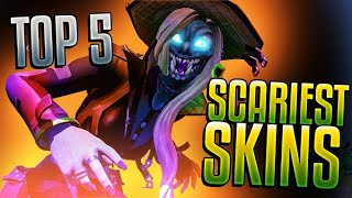 This is my halloween 2020 fortnite special! i list personal top 5 scariest skins in all of fortnite. let me know if you agree or disagree!------ social ...