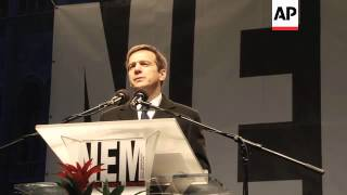 Video Thousands rally against far-right party's statement to list Jews as security risks download MP3, 3GP, MP4, WEBM, AVI, FLV Juli 2018