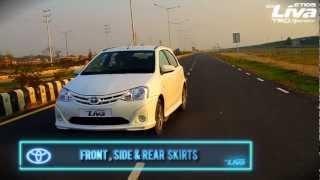 New Toyota Liva - Features - 2013