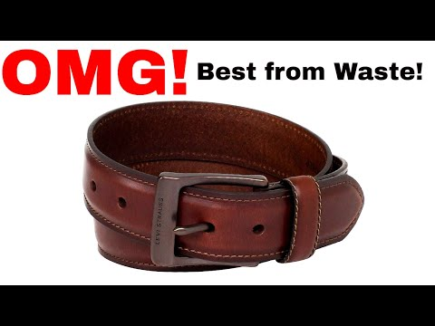 How to Reuse Waste Things & Old Leather Belts I Easy Best Out Of Waste | DIY Easy Craft Ideas