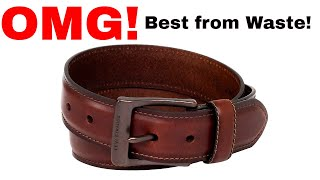How to Reuse Old Leather Belt | Step by Step Tutorial for Cool DIY | Best Craft from Waste