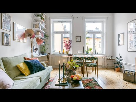 Romantic Scandinavian Apartment, Stockholm 🍍