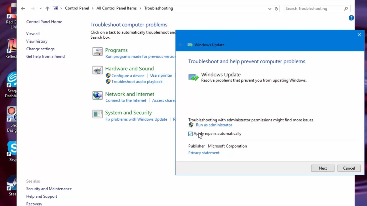 Windows update troubleshooter - How To Fix Problems With Windows Update