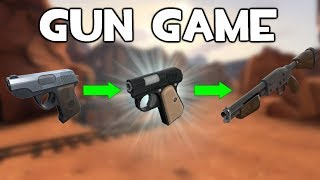 TF2 - Gun Game Gamemode! Gain A New Weapon For Each Kill!