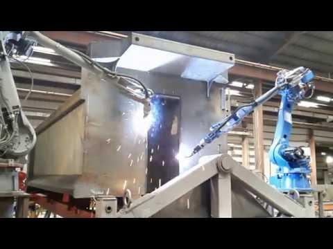 Welding Robot Cell #8: Strong Box Dump Body