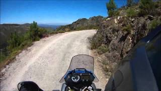 Another hill to climb 8 - awkward hairpins - XT660Z Ténéré