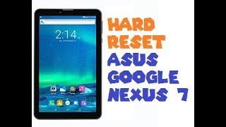 Asus Tablet Hard Reset