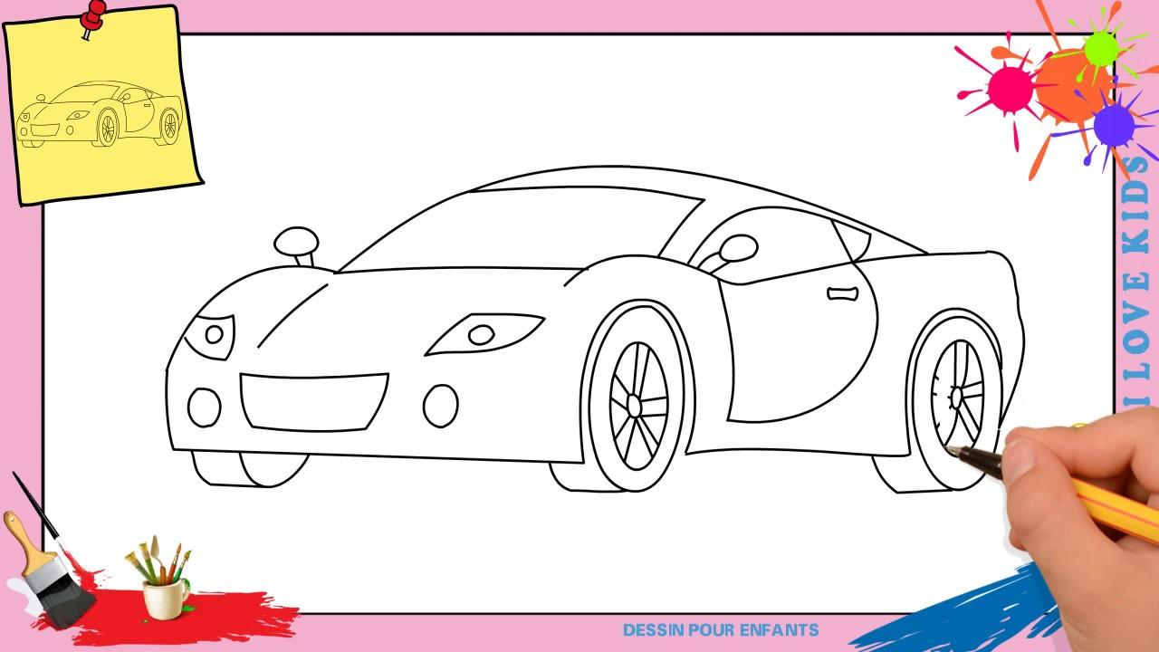 Dessin voiture facile 3 comment dessiner une voiture - Comment dessiner une sorciere facilement ...
