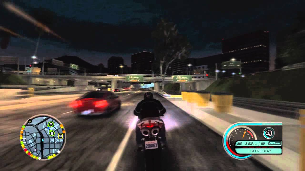 Midnight Club Los Angeles Ducati 1098 Free Roam Youtube