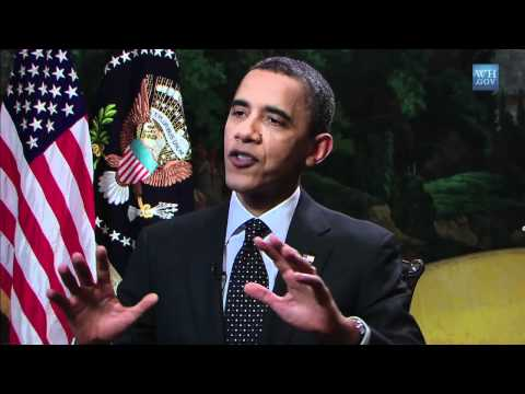 Funding Race to the Top - President Obama's YouTube Interview 2011