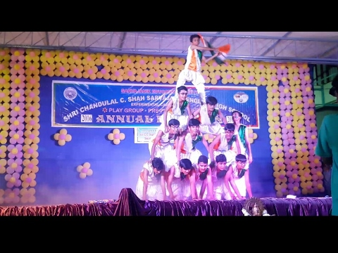 Vande mataram dance / abcd 2 / best group dance/ by AJ'S TECHS aj's techs