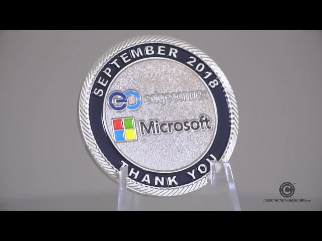 Custom Challenge Coins - Microsoft