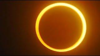 ECLIPSE ANULAR de Sol, PASAJE de la ESTACION ESPACIAL y comienzo del INVIERNO